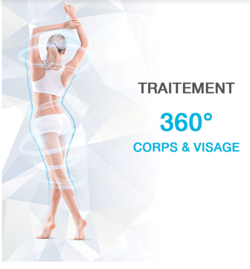 Cryolipolyse 360 body contouring